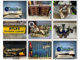 Multiple Estate Auction - Furniture, Collectibles, Firearms, Ammunition and more! featured photo 1