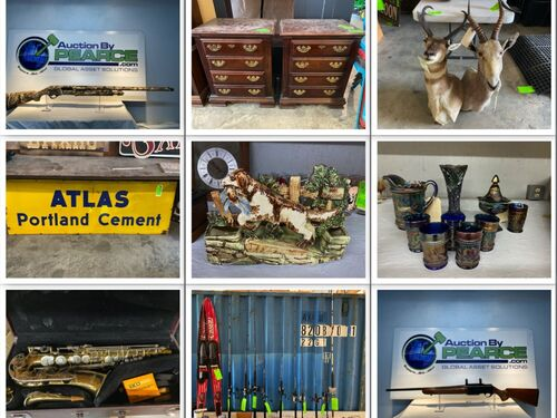 Multiple Estate Auction - Furniture, Collectibles, Firearms, Ammunition and more! featured photo