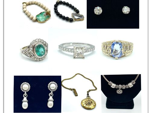 JEWELRY- Fine, Sterling, Vintage, Costume, Watches, and More! featured photo