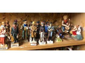 Decanters, Fenton, Nascar Memorabilia & Shelving at Absolute Online Auction featured photo 12