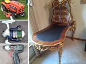 Tractor, Tools, Fishing Reels, Furniture featured photo 1