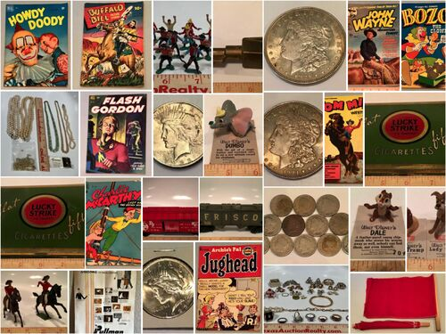 Coins, Comics, Toys and Trains Auction - Online Only featured photo