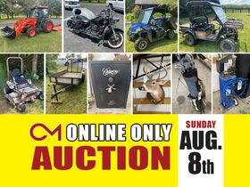 Kioti Tractor - Custom Harley Davidson - 2018 Polaris Ranger - Tools - Equipment - And More! Online Auction ends Aug 8th featured photo 1