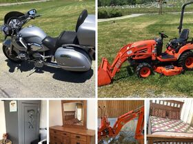 Motorcycle, Kubota Tractor, Tools, Furniture featured photo 1