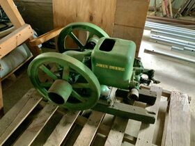 JD Tractor, Hit & Miss Engine, Boat Motor, Shop Tools featured photo 1
