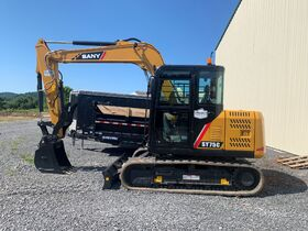SY75C SANY Excavator Auction *Brand New* featured photo 1