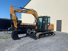 SY75C SANY Excavator Auction *Brand New* featured photo 3