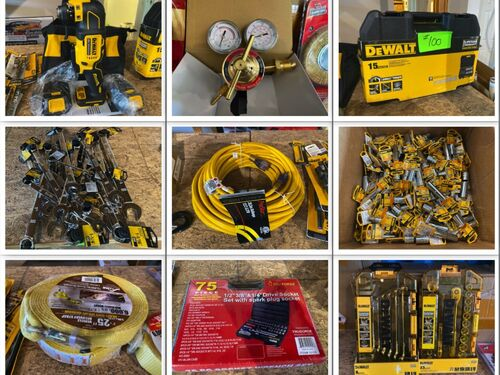 Industrial Tool and Supply Auction - New and Used Inventory featured photo