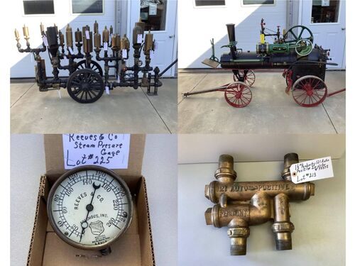 Steam & Gas Engines, Whistles, Railroad Items featured photo