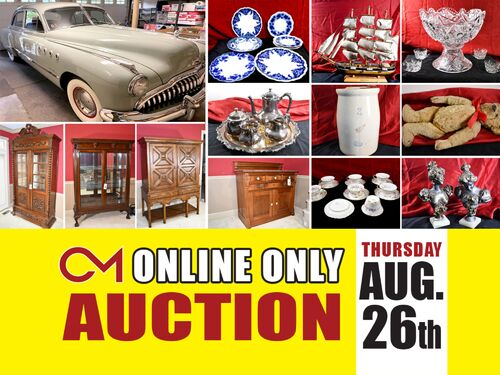 1949 Buick Roadmaster, Fine Antiques, Glassware and More! ONLINE AUCTION featuring the Exclusive Estate of Bonnie & Lloyd Lewis featured photo