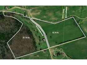 Absolute Estate Auction - 36.93 Acres with Barn & Creek featured photo 1