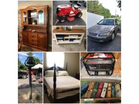 Toyota Camry, Lawnmowers, Furniture, Books & Personal Property at Absolute Online Auction featured photo 1