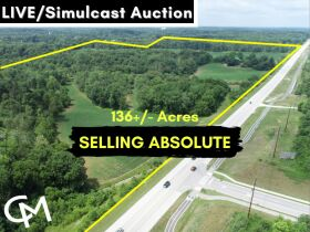 136+/- Acres offered in 7 Tracts & Combinations Selling at ABSOLUTE AUCTION - Live/Simulcast Real Estate Auction Santa Claus, IN featured photo 1