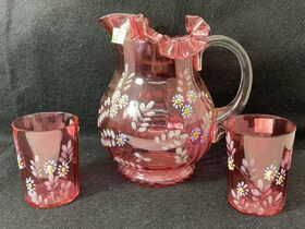 Glassware Auction Featuring Roseville Pottery, Van Briggle, Fenton and More.  Ending July 29th at 9am featured photo 11