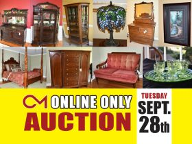 Timeless Collection of Antiques, Glassware, Furniture, Artwork, Decor and More! Moving Sale! Online Auction ends Sept 28th featured photo 1