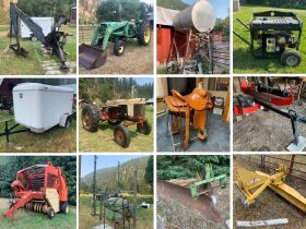 Gibbonsville Equipment, Tack and Barn Treasures 21-0805.ol featured photo 1