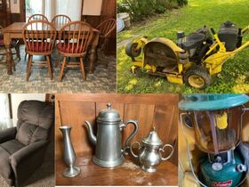 Bement Online Auction, Furniture, Mower, Furnishings, Jewelry featured photo 1