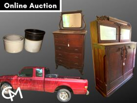 Ford Ranger, Uhl Pottery, Antiques, & More - Online Auction Evansville, IN featured photo 1