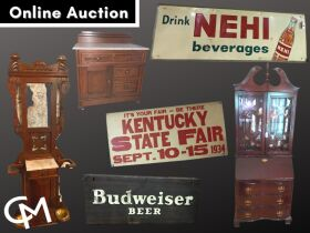 Outstanding Signage, Furniture, & Collectibles Online Auction - Henderson, KY featured photo 1