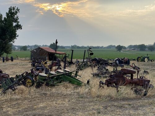 Dry Climate Parts, Implements, and Project Tractors - Baltes Collection featured photo