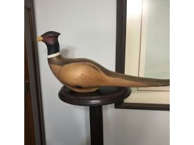 Carved decoys