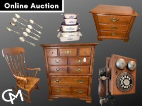 Tell City Furniture, Antiques, Collectibles, & Household Misc. - Online Auction Evansville, IN featured photo 1