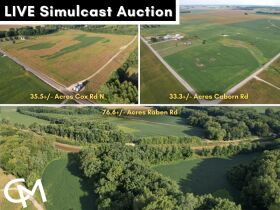 145+/- Acre Land Auction - Posey County, IN featured photo 1