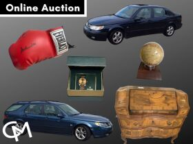 Saab Cars, Gold Jewelry, Rolex Watch, Sports Memorabilia, Furniture, & Electronics - Sept. Online Consignment Auction Evansville, IN featured photo 1
