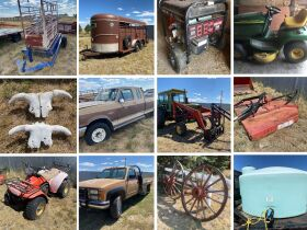 100 year old Cheyenne Ranch Equipment/Yard Art/Tool online Auction 21-0922.wol featured photo 1