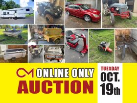 5th Wheel Camper, Honda 4 Wheeler, 2005 Nissan Altima, Antique Tractor, Welder, Compressors and More! Online Auction ends Oct 19th featured photo 1