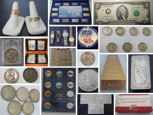 Gold & Silver Coins, Jewelry, Watches & Other Valuables! featured photo