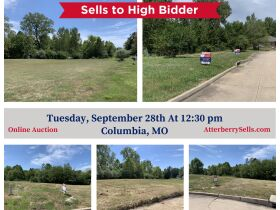 Forest Ridge Subdivision, Residential Development Lots in Columbia, MO - Sell To High Bidder Regardless Of Price featured photo 2