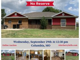 Affordable One Level Home - Sells to High Bidder - Alfalfa Dr., Columbia, MO featured photo 1