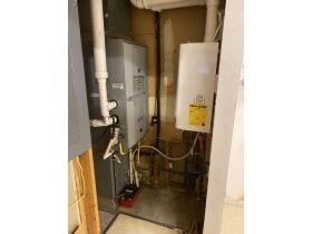 Updated Furnace and Navien Tankless Hot Water Heat