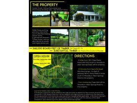 153 +/- ACRES, 3 FARMS, SELLING IN 15 TRACTS; TIMBER & FARM EQUIPMENT featured photo 2