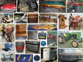 Barn Find Convertibles 1960 Ford Thunderbird & 1962 Ford Galaxie Sunliner, John Deere Tractor, Horse Trailer & So Much More! featured photo 1
