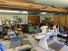 Akron NY Estate Auction - Woodworking Shop, Tools, Furnishings, Hummels & Household featured photo 1