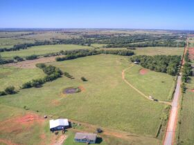 LOGAN COUNTY, OK -MULHALL AREA  LAND AUCTION - 86 +/- acres- W/ HWY 77 FRONTAGE-OFFERED IN CHOICE TRACTS AND COMBINATIONS featured photo 3