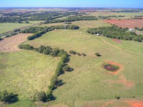 LOGAN COUNTY, OK -MULHALL AREA  LAND AUCTION - 86 +/- acres- W/ HWY 77 FRONTAGE-OFFERED IN CHOICE TRACTS AND COMBINATIONS featured photo 5