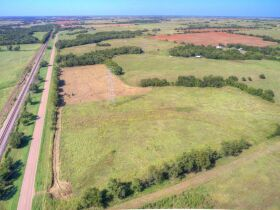 LOGAN COUNTY, OK -MULHALL AREA  LAND AUCTION - 86 +/- acres- W/ HWY 77 FRONTAGE-OFFERED IN CHOICE TRACTS AND COMBINATIONS featured photo 7