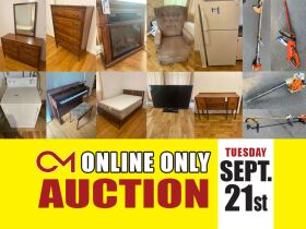 Antique Furniture, Electronics, Tools - Online Personal Property Auction ends Sept. 21st featured photo 1