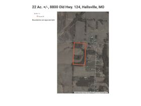 22 +/- ac. Open & Wooded With Blacktop Frontage - Sells to the High Bidder, 8800 E. Old Hwy. 124, Hallsville, MO featured photo 2