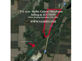 151 Acre MOL Shelby County Farm Auction featured photo 1