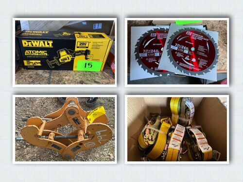 Industrial Tools Auction - New and Used Inventory featured photo