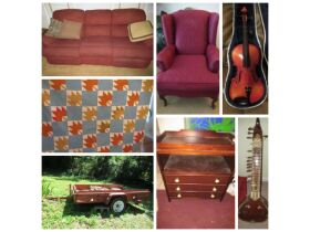 Furniture, Tools, Lawnmowers Etc. - Absolute Online Only Auction featured photo 1