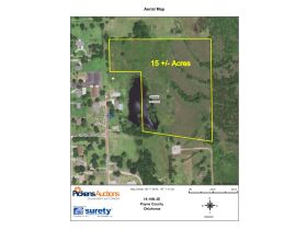 PRIME STILLWATER LAND AUCTION-15 +/- ACRES -EAST SIDE featured photo 1