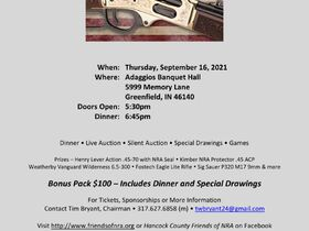 Hancock County Friends of the NRA Banquet and Auction featured photo 1