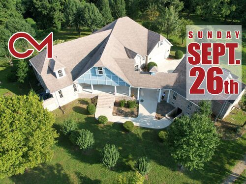 Expansive Private Retreat & Guest House on 15± Acres Overlooking Valley - AUCTION Sept. 26th featured photo