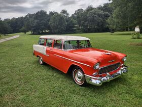 1955 Chevy BelAir Station Wagon featured photo 1