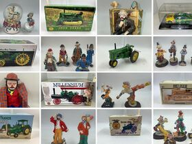 Collector Toy Tractors, NIB - Primarily John Deere | Clowns - Emmett Kelly Jr + Others featured photo 1
